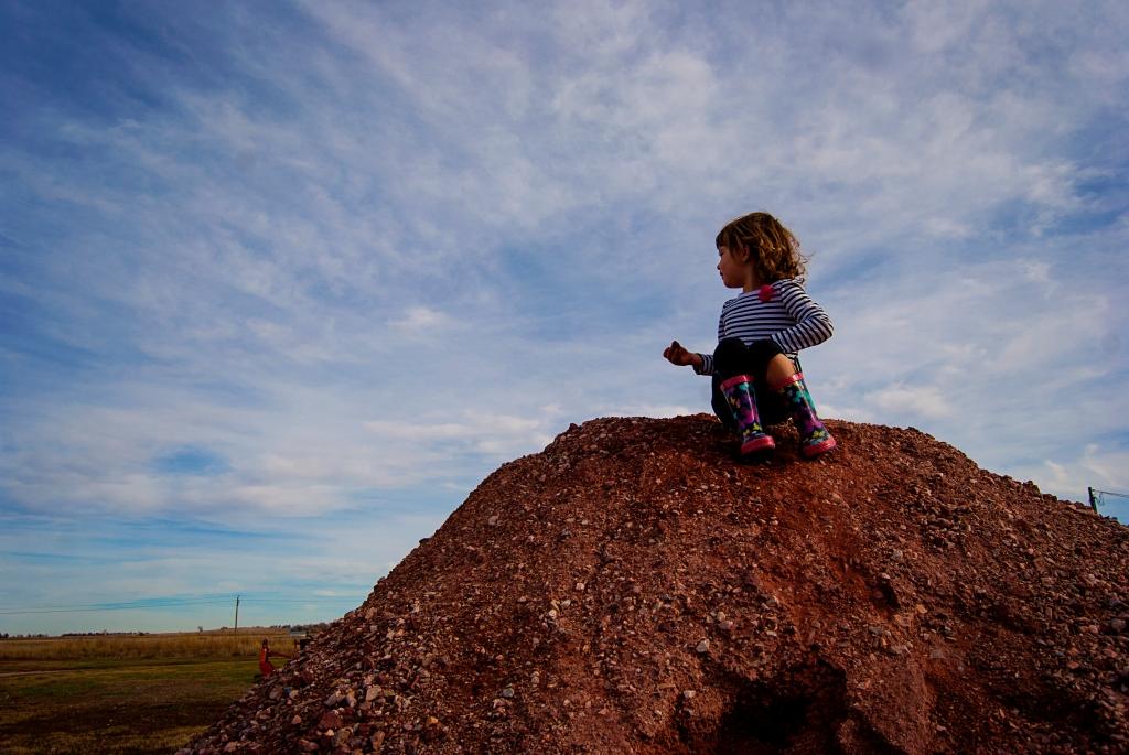 Emily Dirt Pile 2